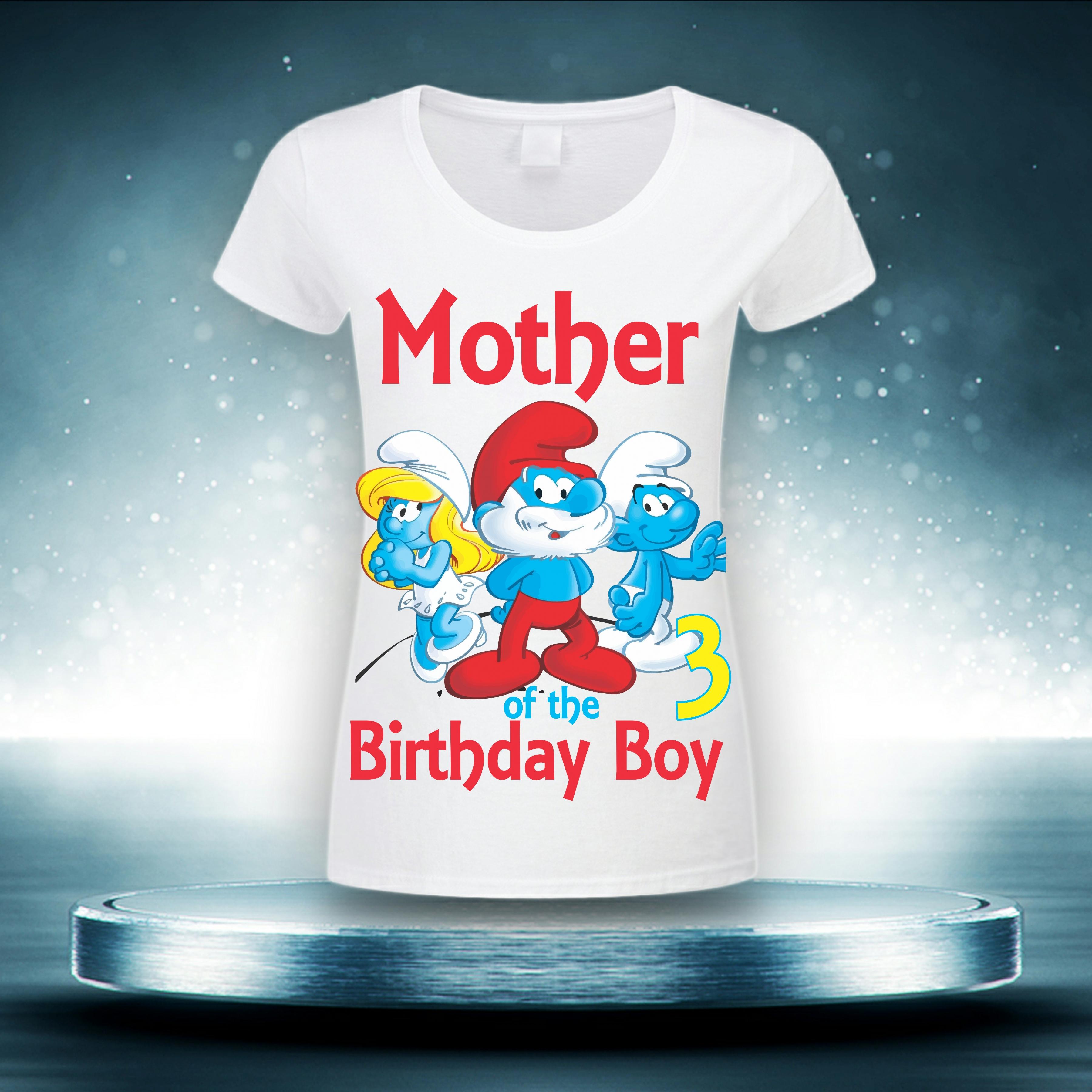3X the Smurf T-shirt Transfer Design