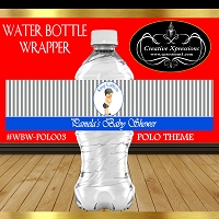 Stripes Polo Water Wrapper
