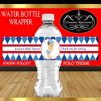 Polo Denim Water Bottle Wrapper