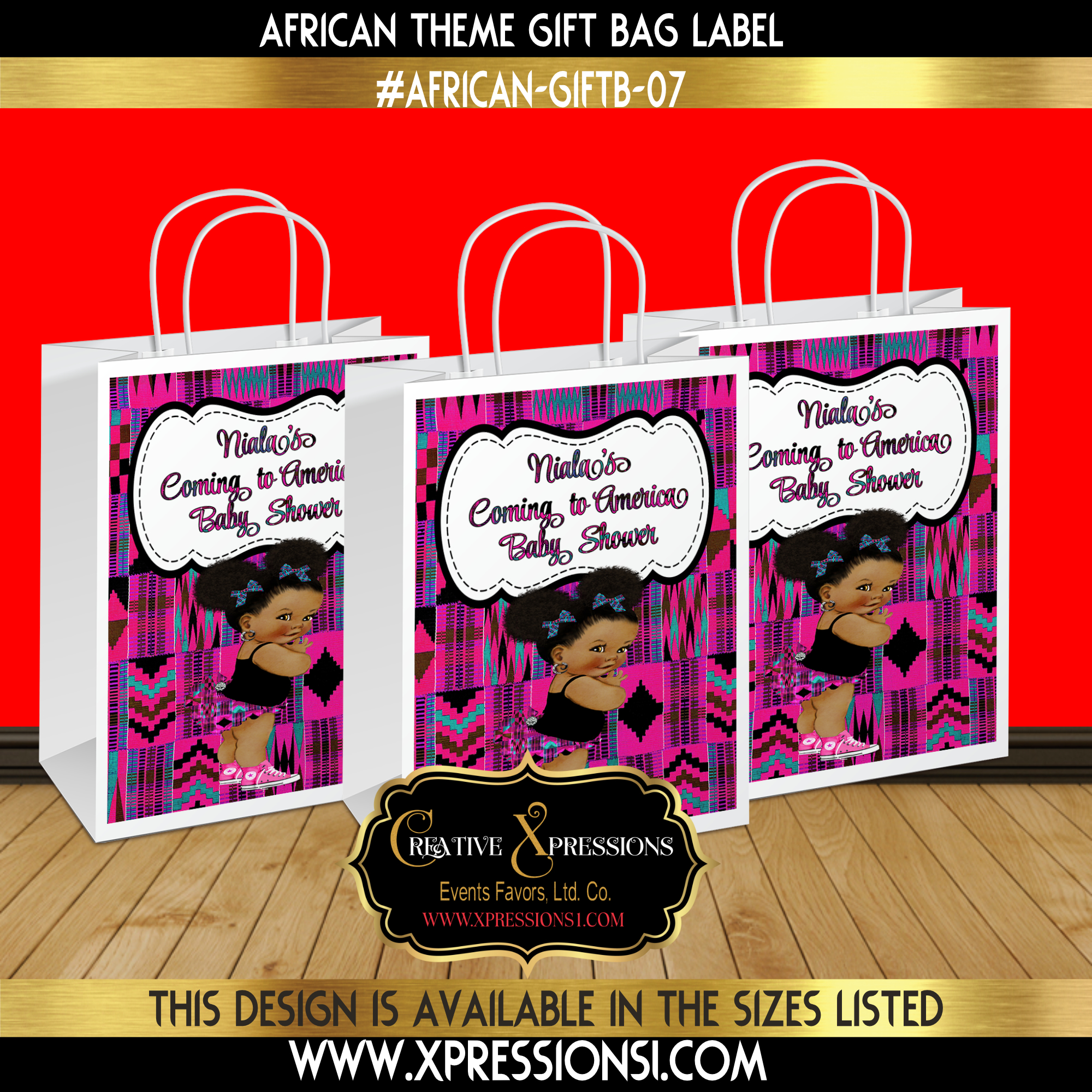 Princess Gift Bag