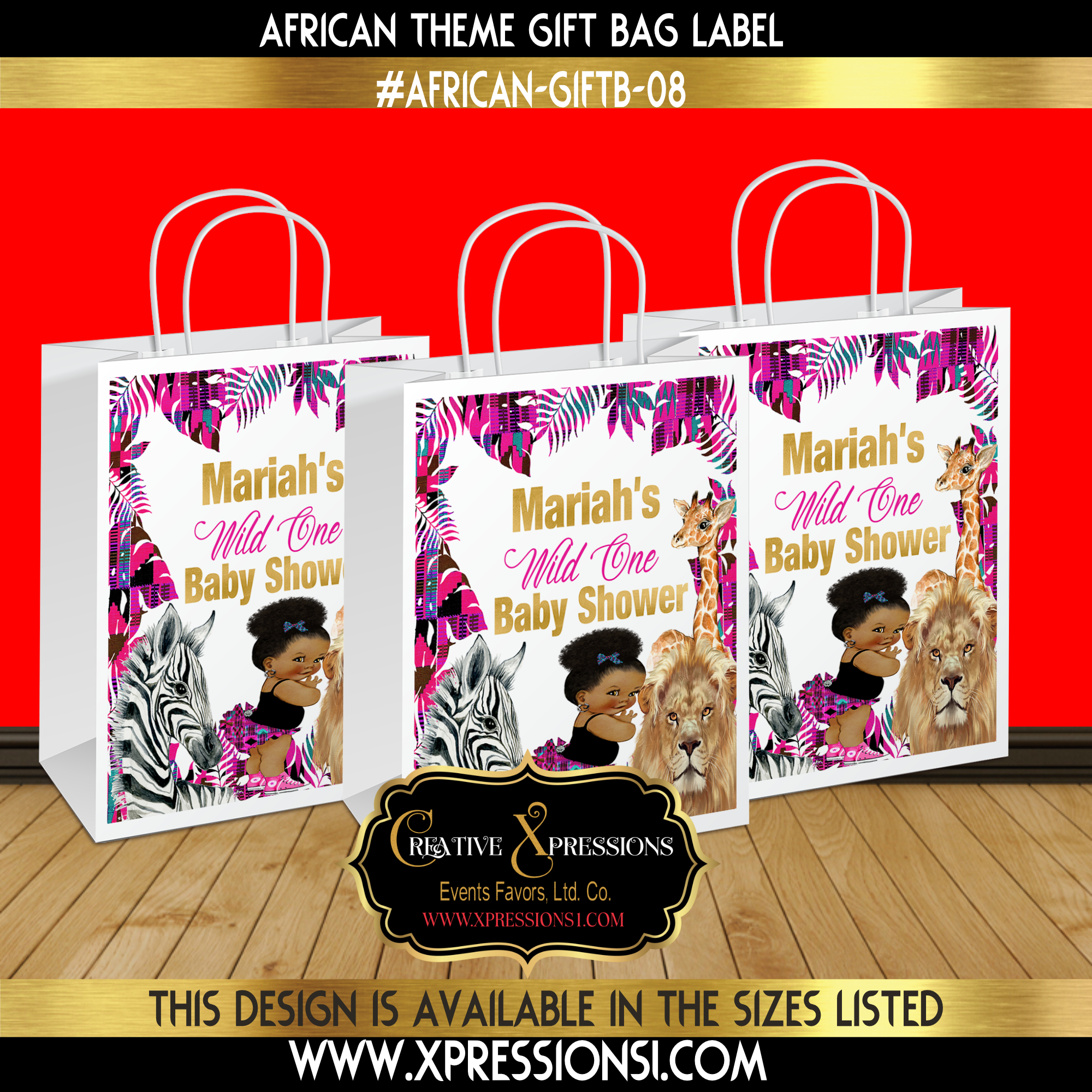 Wild One African Gift Bag