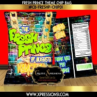 Fresh Prince Chip Bag