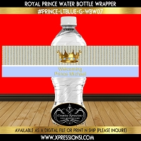 Royal Crown Water Bottle Wrapper