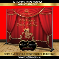 Royal Prince Backdrop