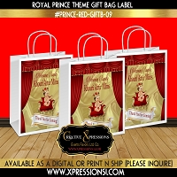 Prince on Wide Throne Gift Bag