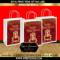 Falling Diamond Prince Gift Bag