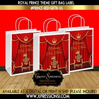 Royal Prince with Sneakers Gift Bag