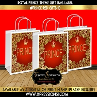 Royal Prince Gift Bag