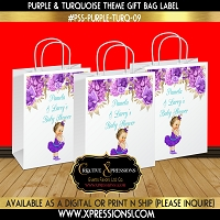 Ballerina Princess with Florals Gift Bag