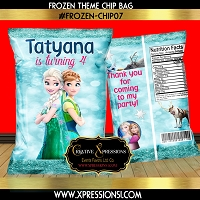 Icy Green Chip Bag