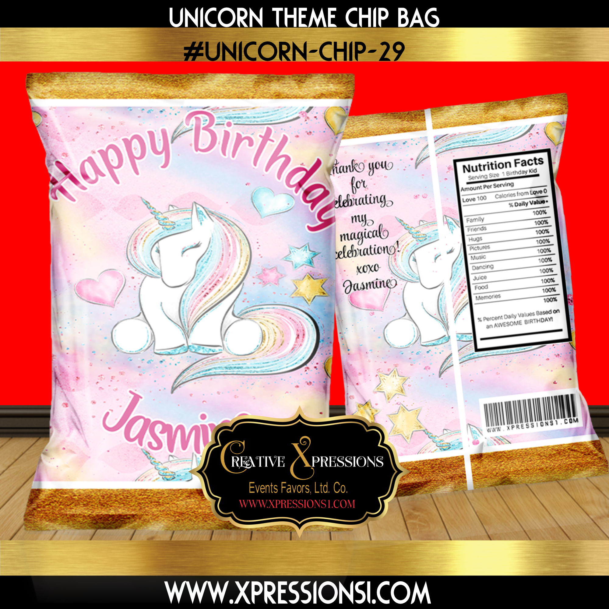 Purity Unicorn Chip Bag