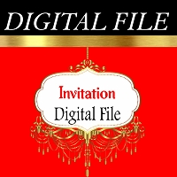Invitation - Digital File