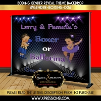 Boxer or Ballerina (Blue or Purple)