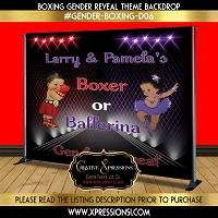 Boxer or Ballerina (Red and Purple)
