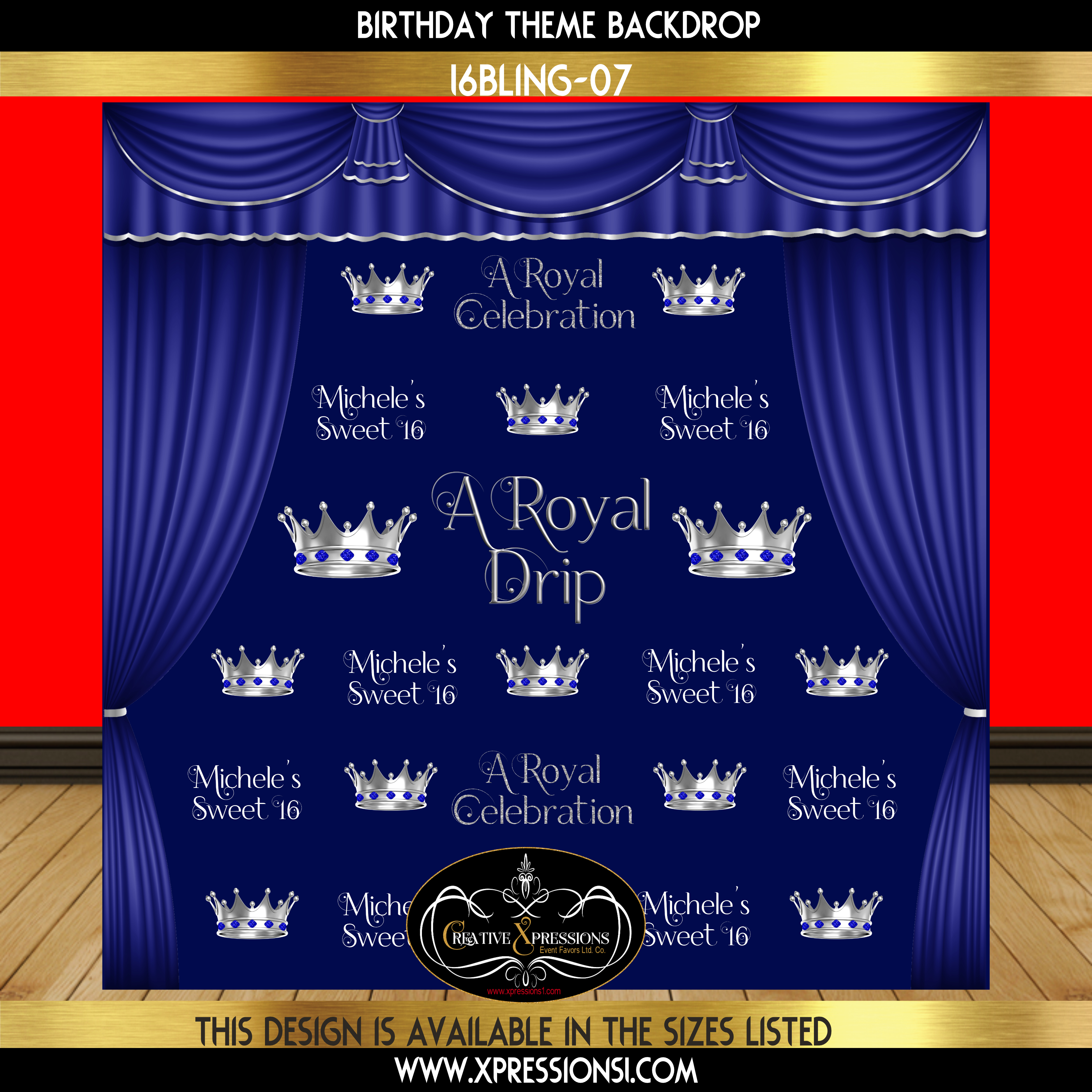 A Royal Drip Sweet 16