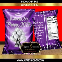 Pure Elegance Prom Chip Bag