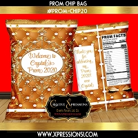 Pearl Tuft Prom Chip Bag