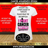 Super Power Cancer Awareness T-shirt