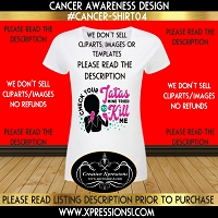 Tatas Cancer Awareness T-shirt