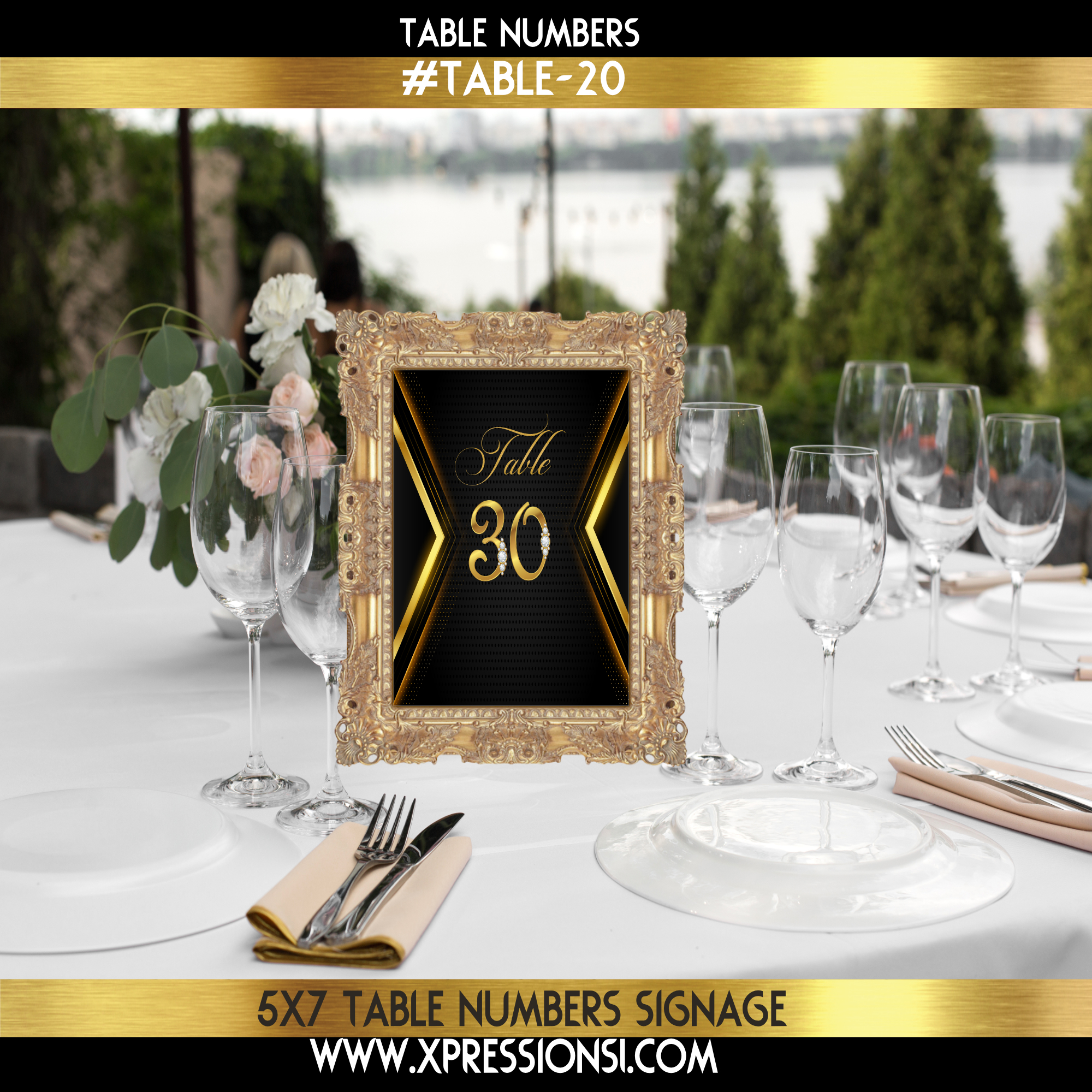 Making a Statement Table Numbers