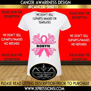 Survivor Split Cancer Awareness T-shirt